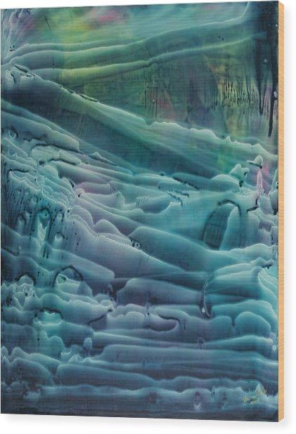 Underwater Seascape II Wood Print