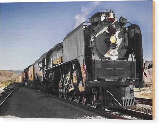 Union Pacific 844 Wood Print