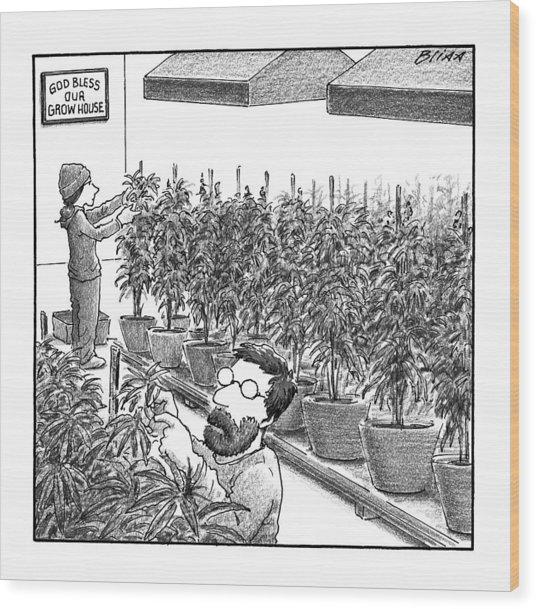 New Yorker November 21st, 2016 Wood Print