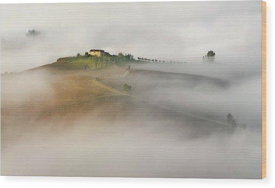 Untitled Wood Print by Izidor Gasperlin