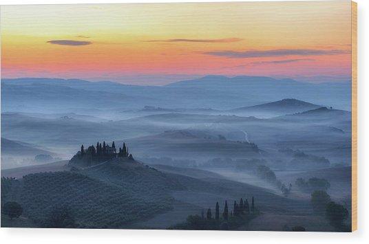 Untitled Wood Print by Riccardo Lucidi