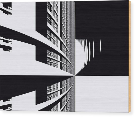 Urban Wood Print