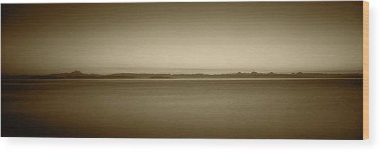Usa, Washington, Juan De Fuca Strait Wood Print by Walter Bibikow
