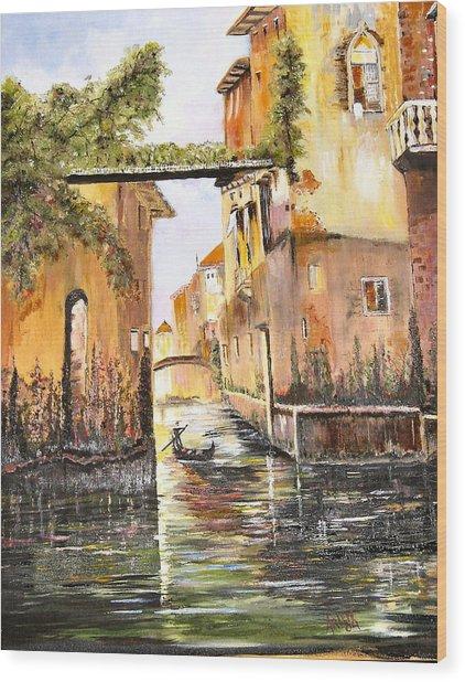 Venice- Italy Wood Print