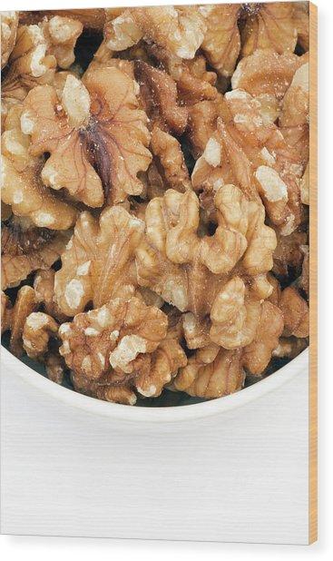 Walnuts Wood Print by Geoff Kidd/science Photo Library