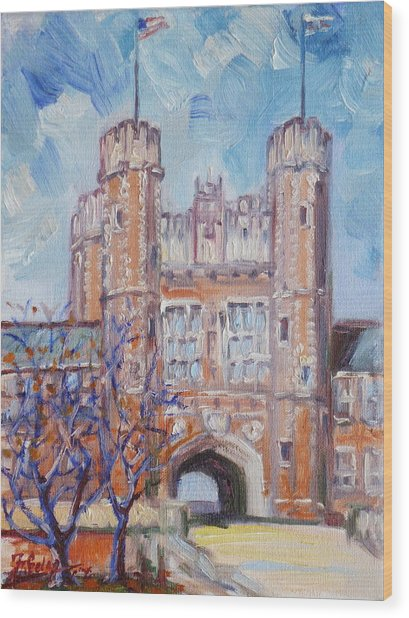 Washington University - St.louis Wood Print