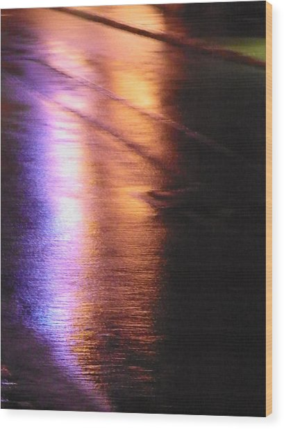 Water Colours 12 Wood Print by Bernie Smolnik