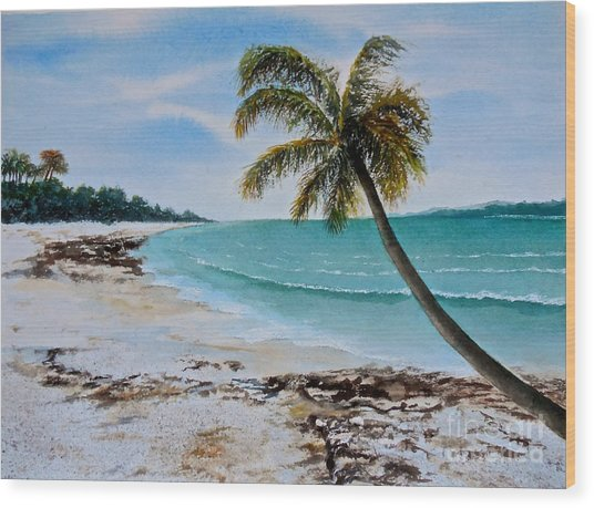West Of Zanzibar Wood Print