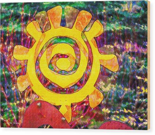 Whirligig Wood Print