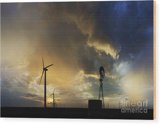 Whispering Wind Wood Print