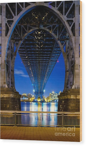 Williamsburg Bridge 3 Wood Print