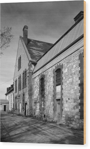 Wyoming Penitentiary, 1974 Wood Print by Granger