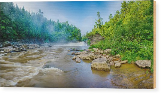 Youghiogheny River A Wild And Scenic Wood Print