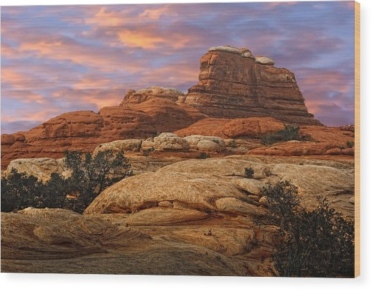 Canyonlands National Park Utah Wood Print
