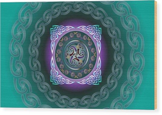 Celtic Pattern Wood Print