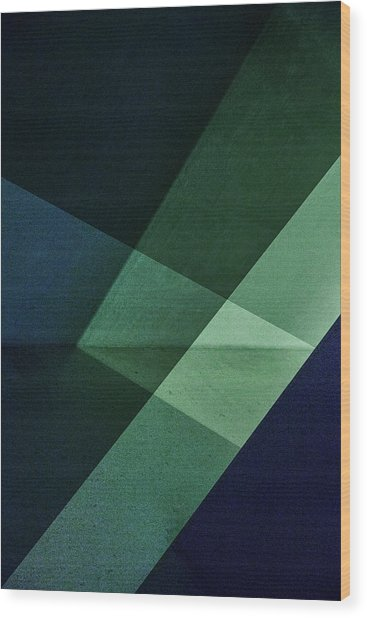Untitled Wood Print by Inge Schuster