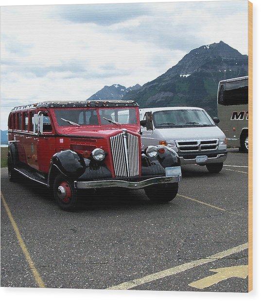 100514 Montana Touring Vechile Wood Print
