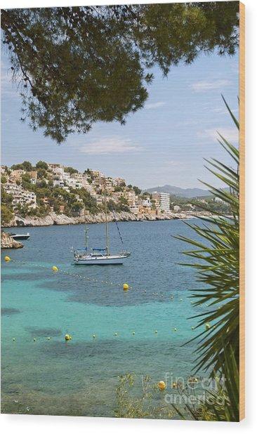 Majorca Wood Print by Design Windmill