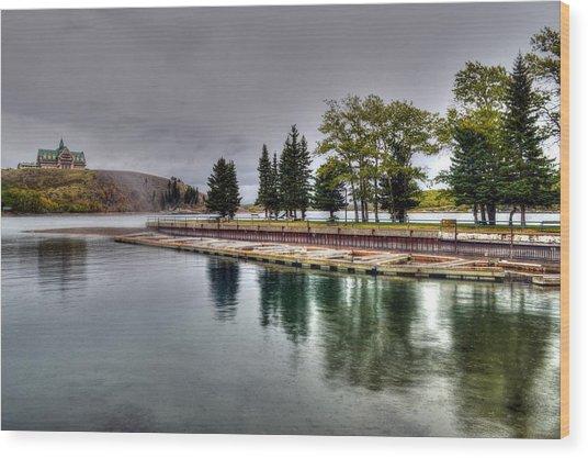 Waterton Alberta Canada Wood Print by Paul James Bannerman