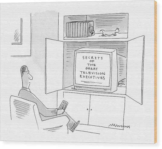 New Yorker January 10th, 2000 Wood Print