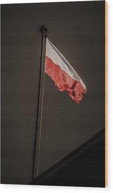 11.11 National Polish Independence Day Wood Print by Adam Budziarek