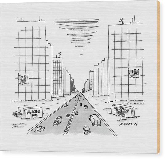 New Yorker May 15th, 2000 Wood Print