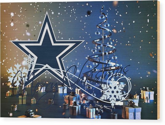 Dallas Cowboys Wood Print