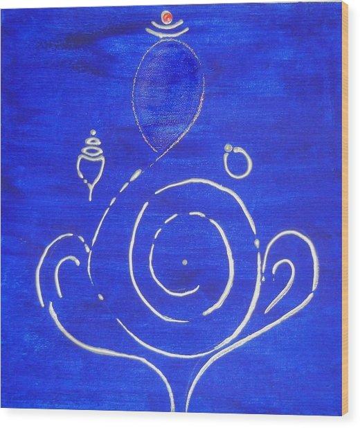 16 Ganesh Wood Print