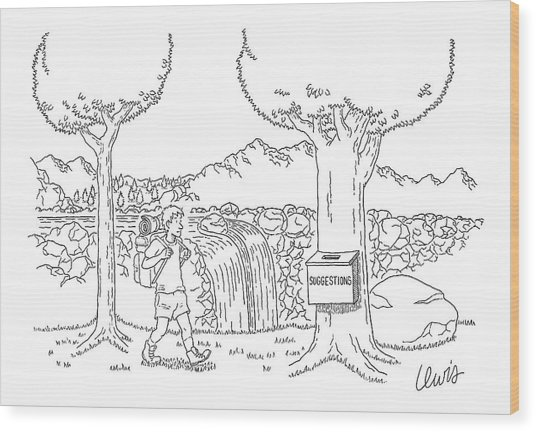 New Yorker September 5th, 2005 Wood Print