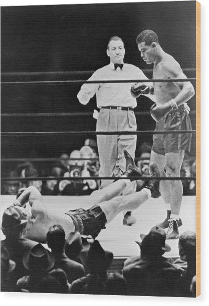 Muhammad Ali (1942-2016) Wood Print by Granger