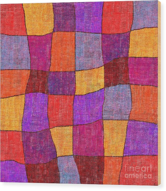 1343 Abstract Thought Wood Print