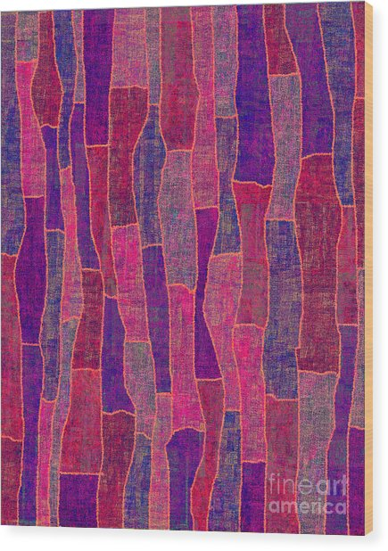 1344 Abstract Thought Wood Print