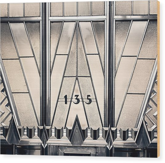 135 E 42nd - Chrysler Building Wood Print