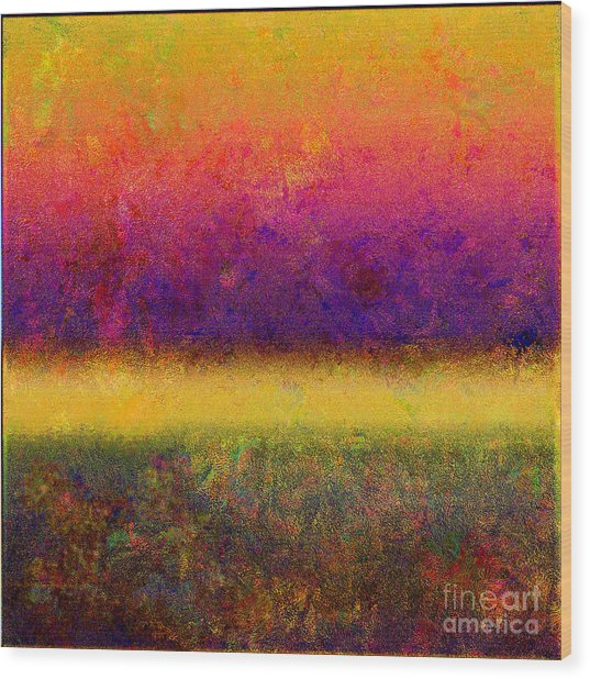 1395 Abstract Thought Wood Print