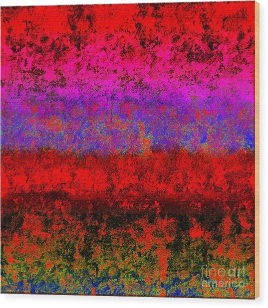 1423 Abstract Thought Wood Print