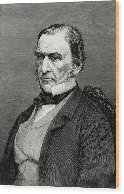 William Ewart Gladstone  British Wood Print by Mary Evans Picture Library