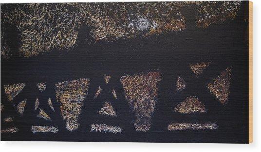 Trussel 01 Wood Print