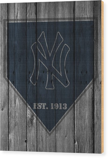 New York Yankees Wood Print