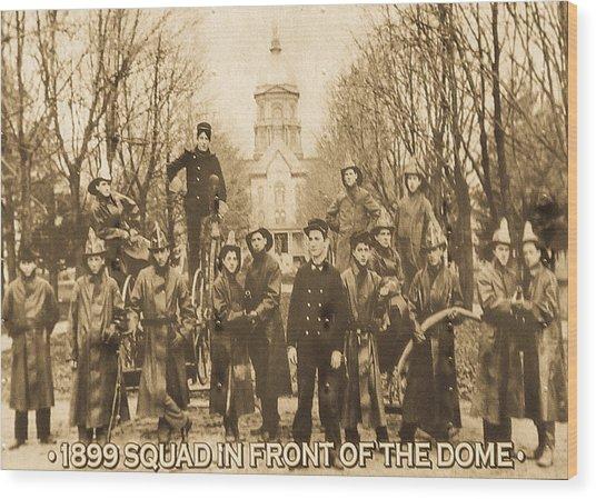 1899 Squad Nd Wood Print
