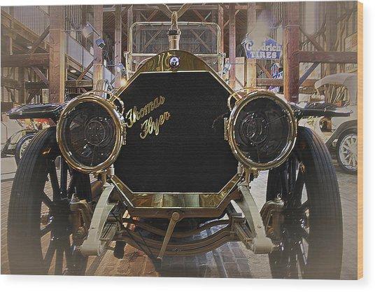 1908 Thomas Flyer Wood Print