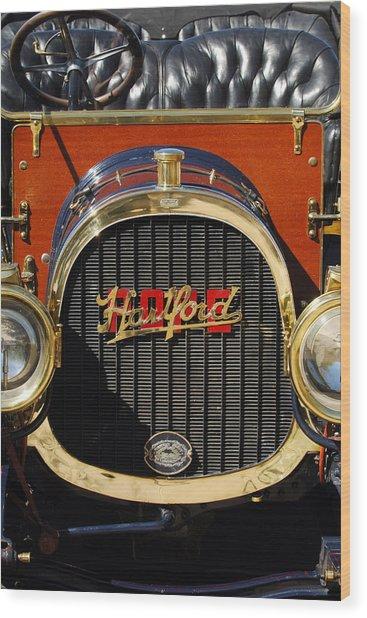 1910 Pope Hartford Model T Grille Emblem Wood Print