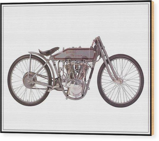1915 Harley-davidson 11-k Wood Print