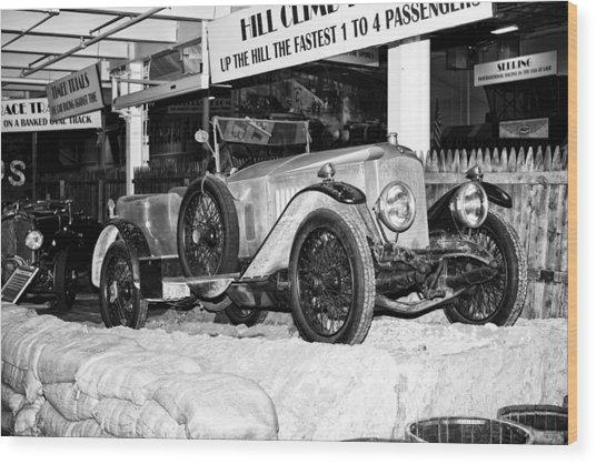 1921 Vauxhall 30/98e Wood Print
