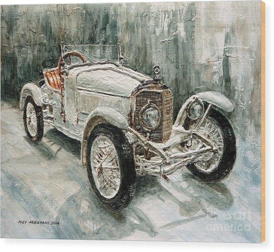 1923 Mercedes Ps Sport- Zweisitzer Wood Print