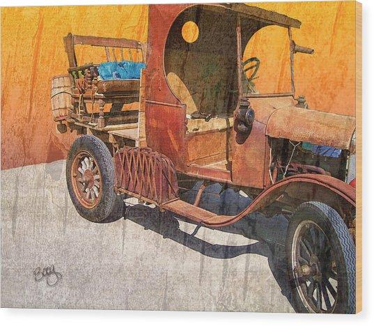 1925 Ford Truck Wood Print