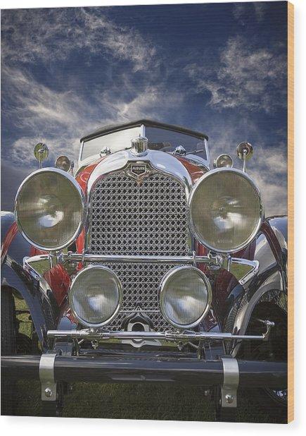 1928 Auburn Model 8-88 Speedster Wood Print