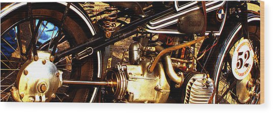 1928 Bmw Canonball Contender Wood Print
