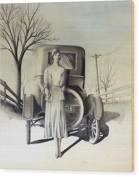 1928 Wood Print
