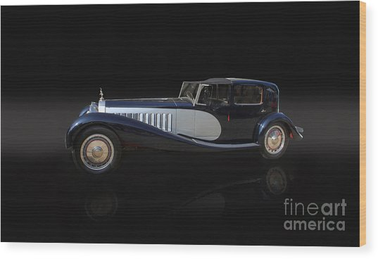 1929 Bugatti Type 41 Royale Wood Print