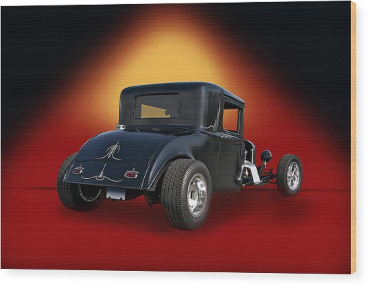 1930 Hudson Hot Road Coupe IIi Wood Print by Dave Koontz